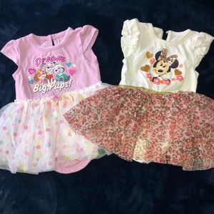 Baby girls dresses size 6-9 months bundle
